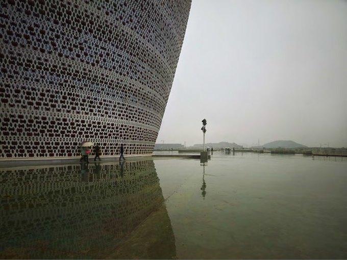 Архитектура дня: музей керамики со зданиями в форме чаш в Китае. Изображение № 3.