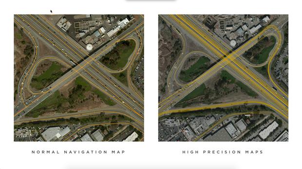Маск объяснил отличие карты дляавтопилота отобычного GPS. Изображение № 1.