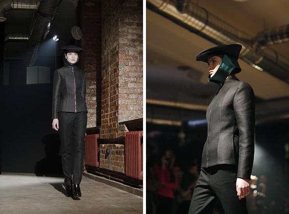 Изображение 4. Bezous FW 2011: брюки со стрелками и платья-футляры.. Изображение № 4.