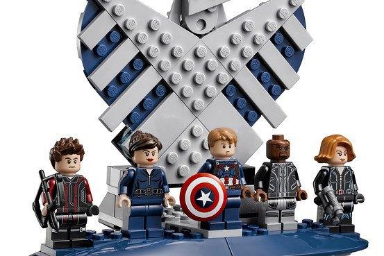 Lego показала набор Shield Helicarrier. Изображение № 3.
