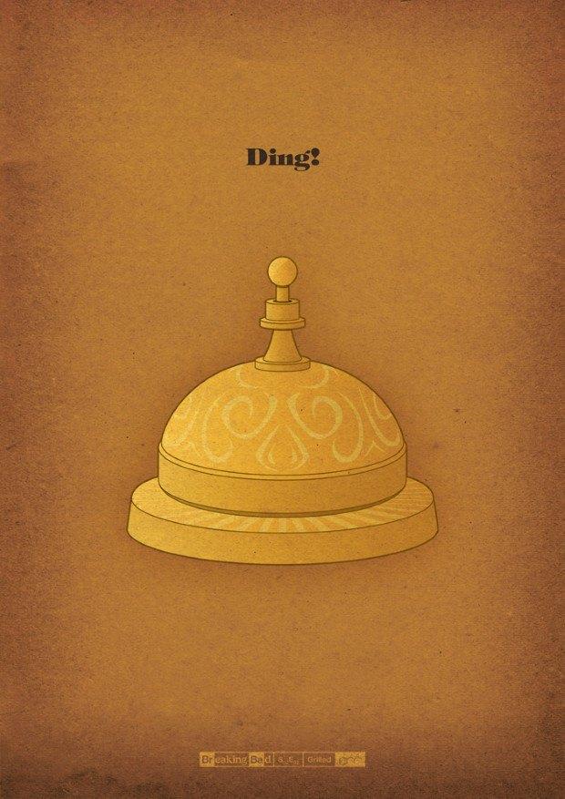 Дизайнер создал постеры всех серий «Во все тяжкие». Изображение № 3.