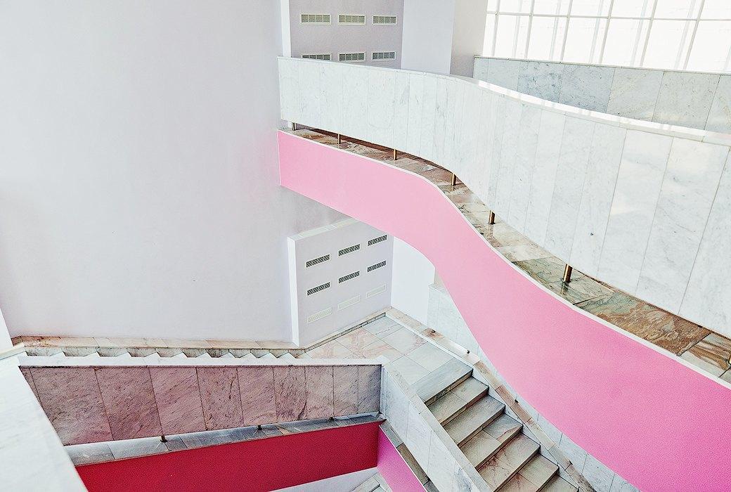 Фантастически красивые советские интерьеры в Культурном центре ЗИЛ. Изображение № 5.