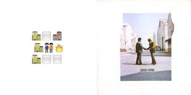 Музыкант воссоздал обложки классических альбомов из Emoji. Изображение № 3.