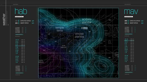 Студия рассказала обинтерфейсах в«Марсианине». Изображение № 15.