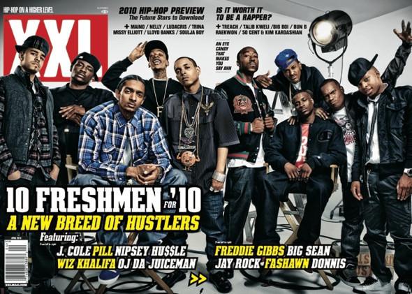 Фристайлы XXL «Freshmen Cover» 2010. Изображение № 3.