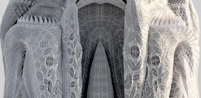 Архитекторы создали гротескные колонны на 3D-принтере. Изображение № 1.