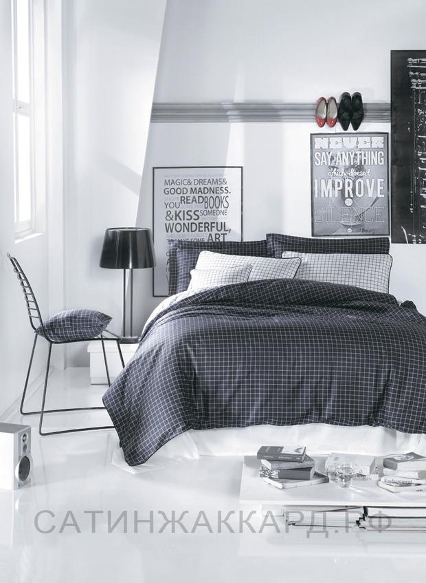ТОП 10 темных комплектов постельного белья. Изображение № 2.