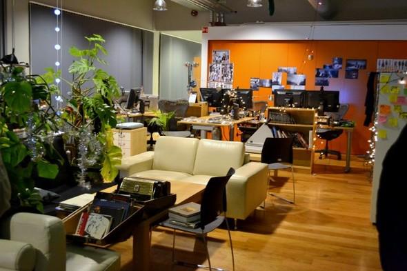 Студия CCP в Рейкьявике, где делают онлайн-игру EVE. Изображение № 25.
