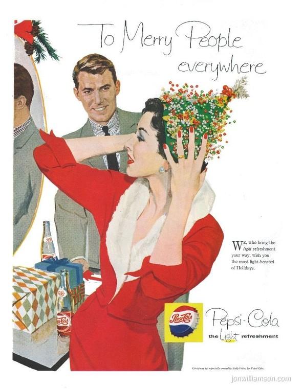69 рождественских рекламных плакатов. Изображение № 53.