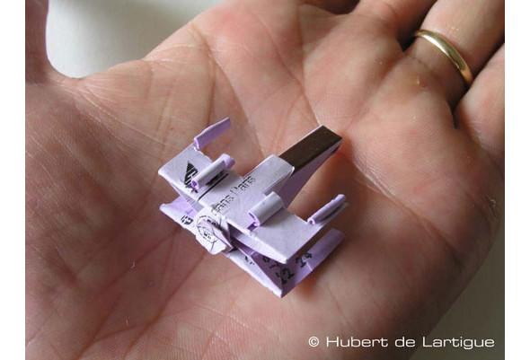 Бумажный Истребитель X-wing. Изображение № 1.