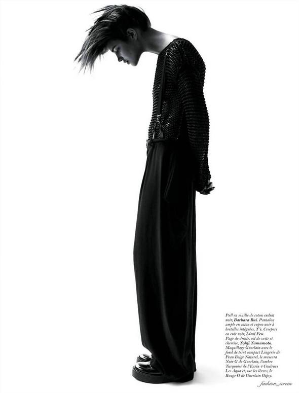 Съёмка: Наталья Водянова для Vogue. Изображение № 10.