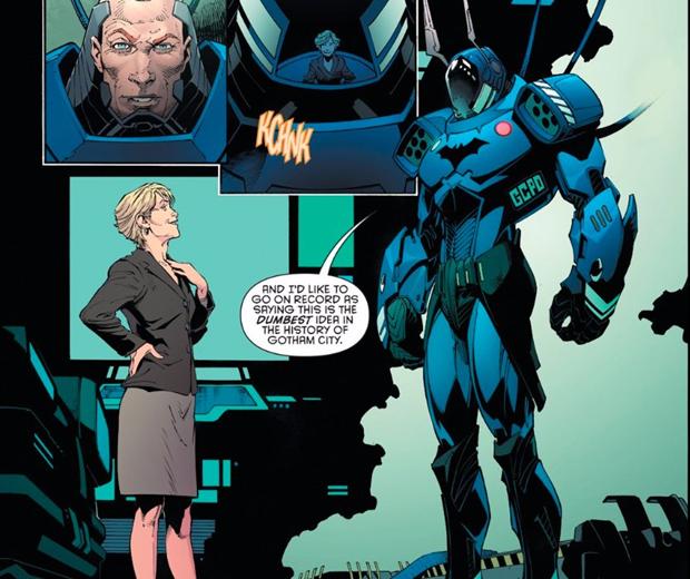 В комиксах новым Бэтменом стал комиссар Гордон. Изображение № 7.