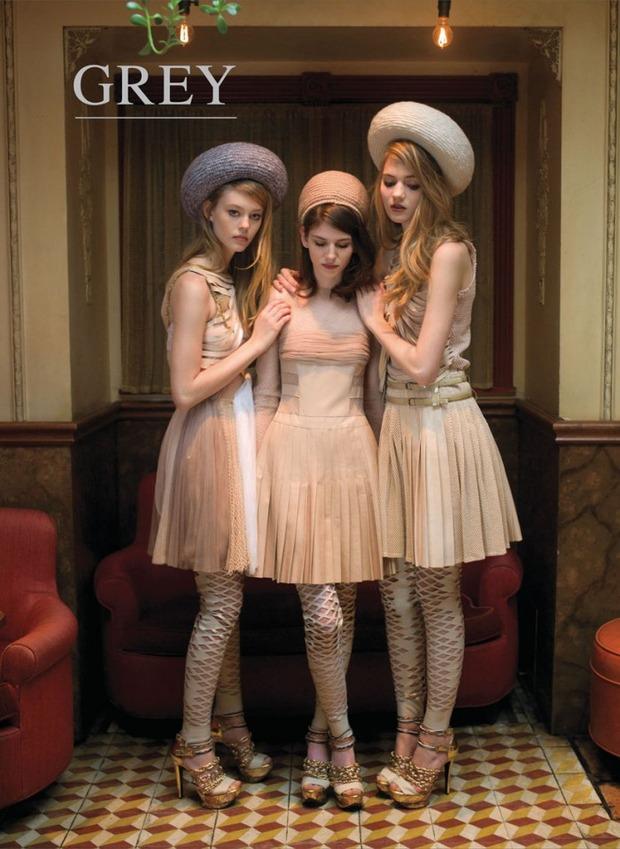 Обложки: French Revue de Modes, L'Officiel, Muse и другие. Изображение № 19.