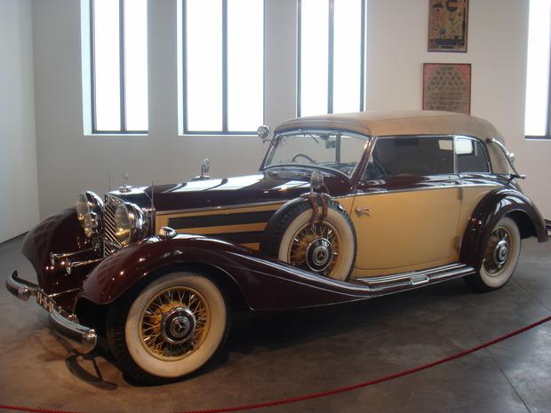 Испанский музей ретро-автомобилей. Изображение № 11.