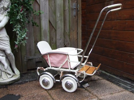Ретро – kinderwagen, stroller илидетская коляска. Изображение №13.