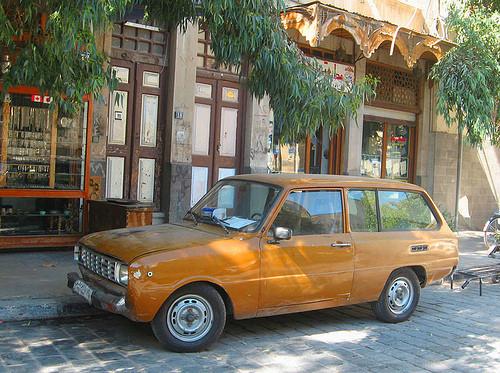Ретро-автомобили в Сирии. Изображение № 13.