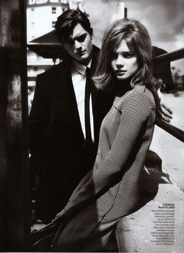 Съёмка: Наталья Водянова для Vogue. Изображение № 6.