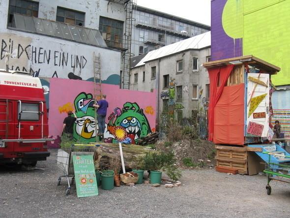 Творческие сквоты, Gängeviertel, Hamburg. Изображение № 5.
