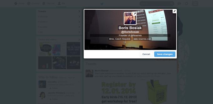 Twitter тестирует новый дизайн сайта. Изображение № 4.