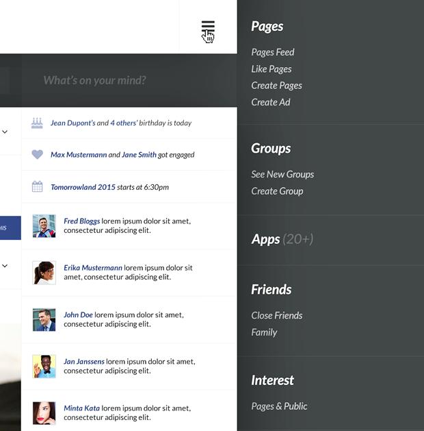 Редизайн дня: полностью новая веб-версия Facebook. Изображение № 9.