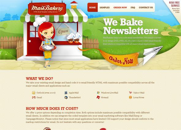 Персонажи в дизайне сайтов. Изображение № 44.