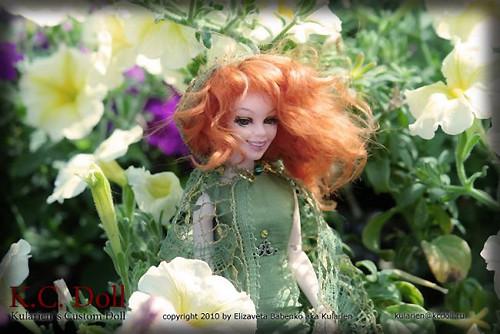 K.C.Doll. Миниатюра на шарнирах. Изображение № 7.