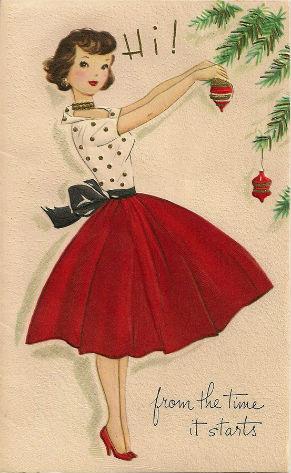 Новогодние fashion cards. Изображение № 24.