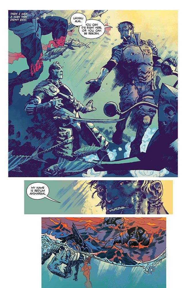 Российский художник Артём Траханов рисует Undertow для Image Comics . Изображение № 2.