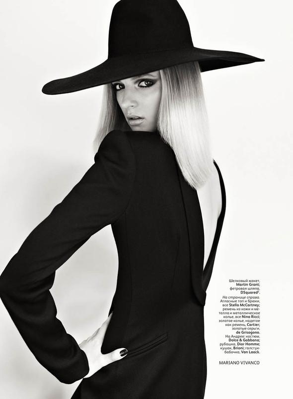 Съёмка: Дарья Строкоус для российского Vogue. Изображение № 5.