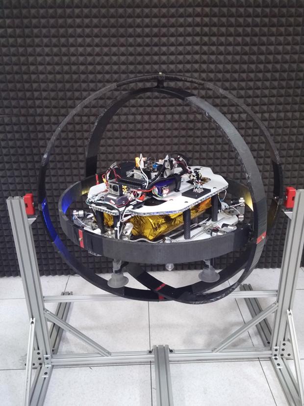Маленький аппарат для работы на астероидах. Изображение № 1.