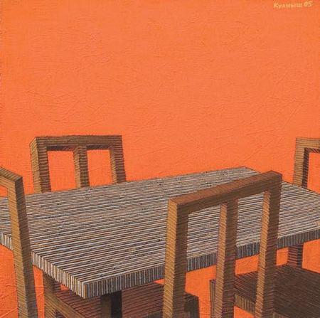 Куаныш Базаргалиев. Столы истулья. Изображение № 4.