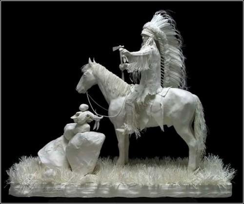 Бумажные скульптуры. Изображение № 30.