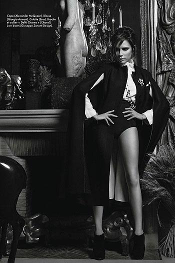 Королева Виктория: мадам Бекхэм для Elle. Изображение № 2.