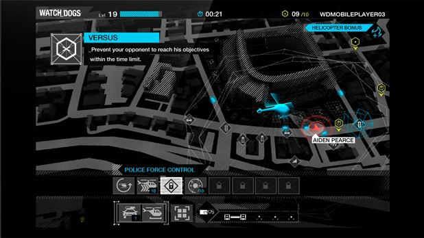 Ubisoft выпустила мобильную игру по Watch Dogs . Изображение № 1.