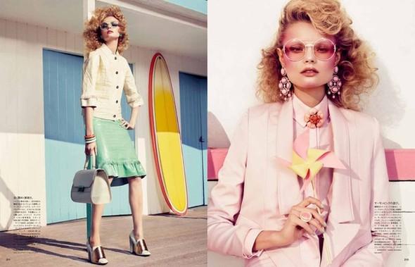 Магдoлена Фраковяк для Vogue Japan. Изображение № 3.