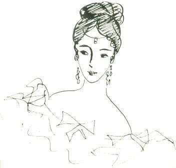 Надя Рушева. Маленькая принцесса. Изображение № 22.
