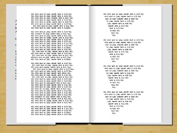 Фанат Стивена Кинга опубликовал роман Джека Торренса. Изображение № 3.