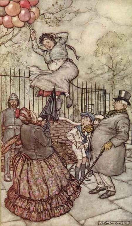 Arthur Rackham (1867–1939). Изображение № 7.