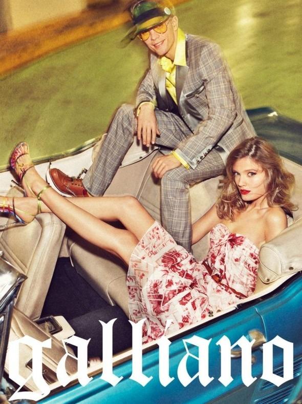 Кампания: Galliano SS 2012. Изображение № 3.