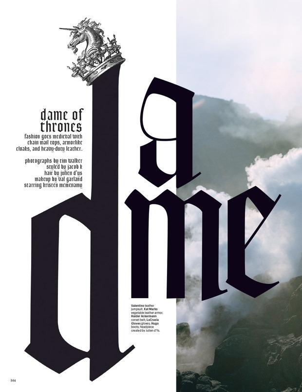 Новые съемки Dazed & Confused, Vogue, i-D и W Magazine. Изображение № 72.