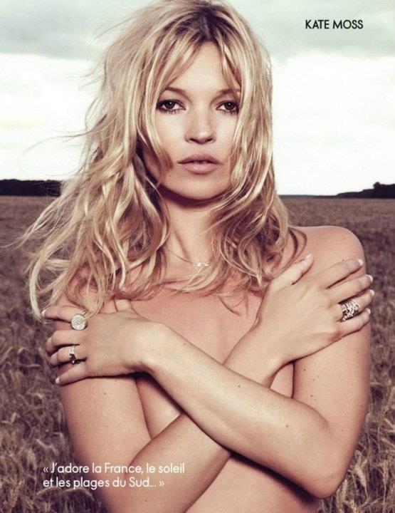 Съемка: Кейт Мосс для Elle Франция. Изображение № 8.