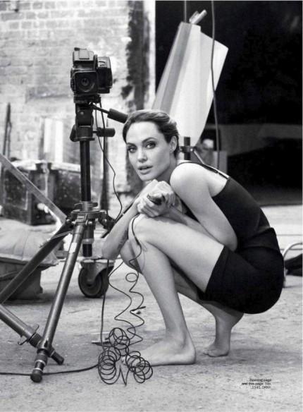 Съёмка: Анджелина Джоли для Marie Claire. Изображение № 6.