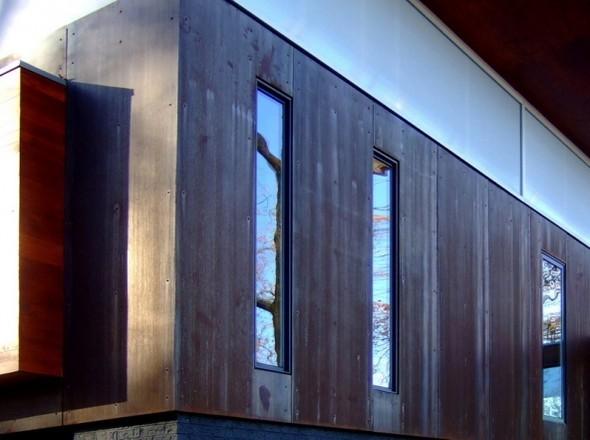 Железный дом(Ferrous House) вСША отJohnsen Schmaling. Изображение № 7.
