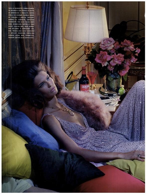 Съёмка: Бьянка Балти для итальянского Vogue. Изображение № 10.