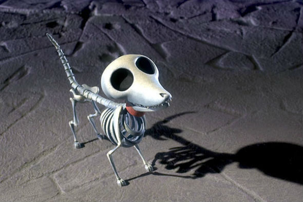 Жизнерадостные останки любимого пса Виктора. «Труп невесты» 2005. Изображение №39.
