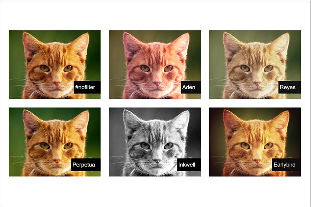 Фильтры из Instagram сымитировали с помощью CSS. Изображение № 1.