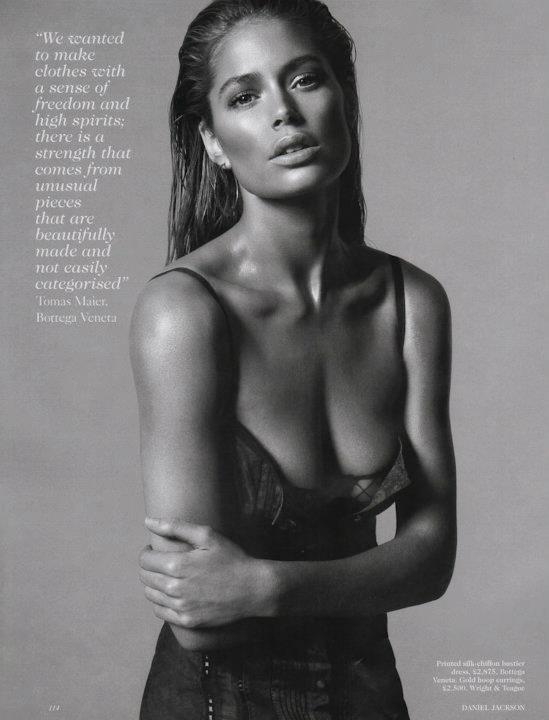 Съёмка: Дэниел Джексон для британского Vogue. Изображение № 12.