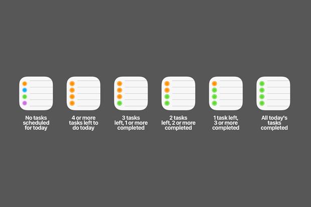Пример динамических иконок для приложения со списком дел. Изображение № 5.