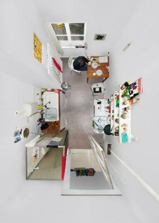 """Вид сверху лучше: """"Портреты комнат"""", сделанные с потолка. Изображение № 6."""