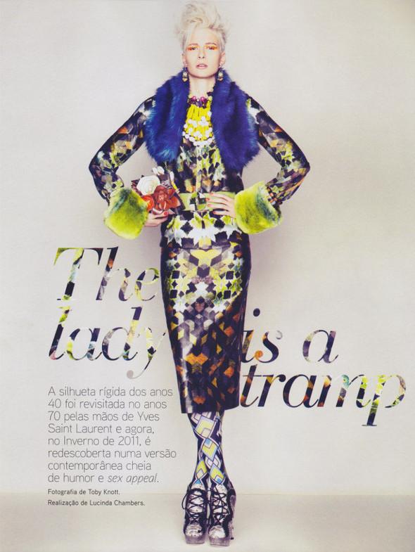 Съёмка: Сара Уэйл для португальского Vogue. Изображение № 1.